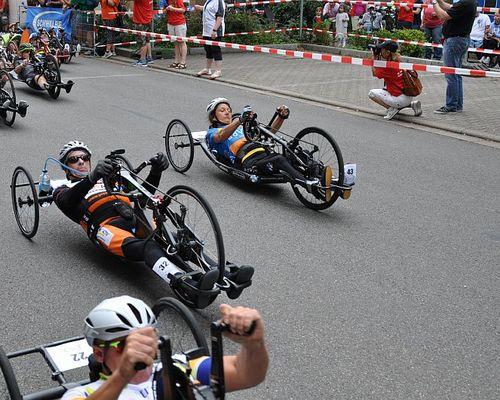 Handbike Rennen in Heidelberg - Maximarathon