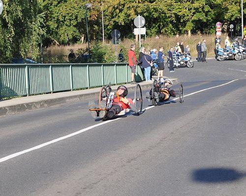 Handbike Halbmarathon in Kassel 15.09.2019
