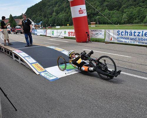 Handbike Einzelzeitfahren in Elzach