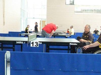 Württembergische Meisterschaft im Tischtennis in Aichwald