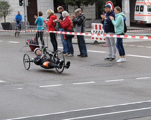 23.09.2018 – Handbike Halbmarathon in Ulm