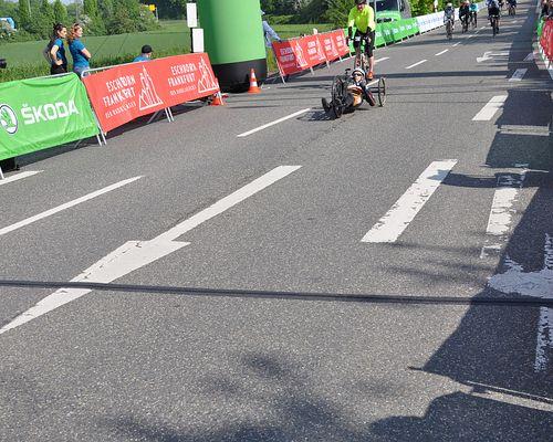 Handbike Rennen beim Radklassiker in Eschborn-Frankfurt - 01.05.2019