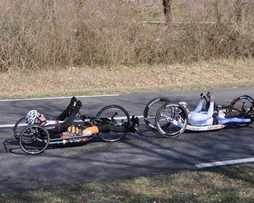 26.03.2016– 3. EHC Handbike Rennen in Rosenau (F) am 26. März 2016