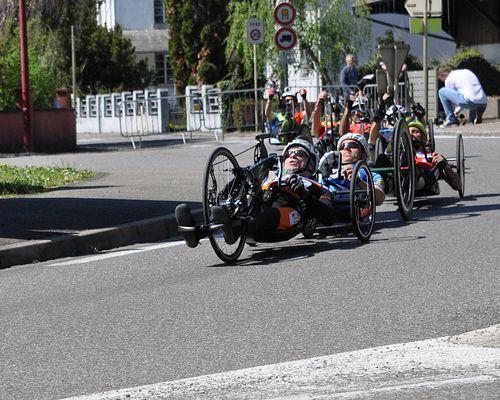 3. EHC Handbike Rennen in Rosenau (F) - 20.04.2019